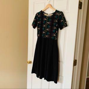 Lularoe Multi Colored Dress with Pockets!